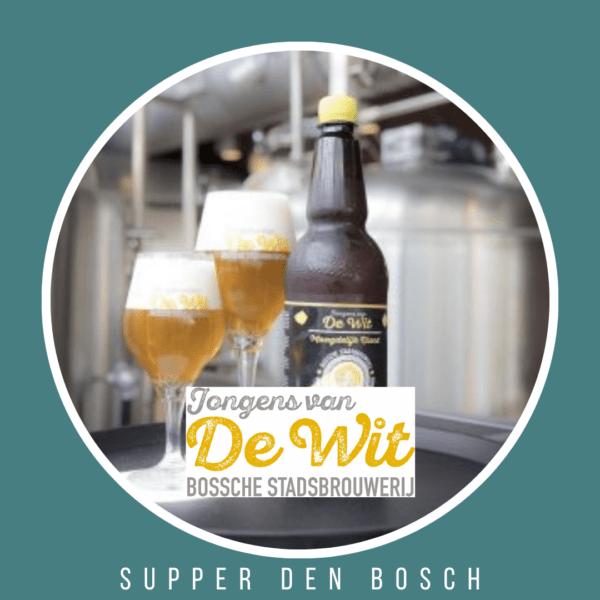 Biertje bierbrouwerij voor bij het suppen